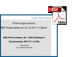Erfahrungsaustausch ABD Suedbayern Berlin A99
